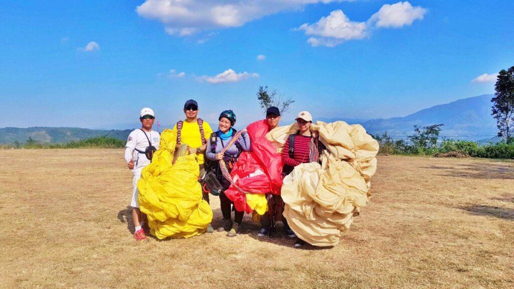 paragliding school philippines